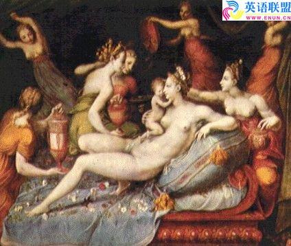 [中英文对照]古希腊神话故事:厄洛斯(丘比特)